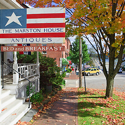The Marston House in Wiscasset, Maine.