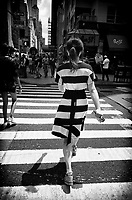 Crossing Sixth Avenue