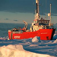 Arctic Sunrise in low sun  Accession #: 0.97.081.011.06
