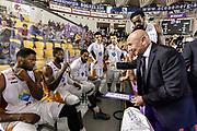 DESCRIZIONE : Campionato 2014/15 Virtus Acea Roma - Giorgio Tesi Group Pistoia<br /> GIOCATORE : Luca Dalmonte<br /> CATEGORIA : Allenatore Coach Time Out<br /> SQUADRA : Virtus Acea Roma<br /> EVENTO : LegaBasket Serie A Beko 2014/2015<br /> GARA : Dinamo Banco di Sardegna Sassari - Giorgio Tesi Group Pistoia<br /> DATA : 22/03/2015<br /> SPORT : Pallacanestro <br /> AUTORE : Agenzia Ciamillo-Castoria/GiulioCiamillo<br /> Predefinita :
