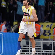 Fenerbahce Ulker's Semih ERDEN during their Turkish Basketball league Play Off Final Sixth Leg match Fenerbahce Ulker between Efes Pilsen at the Abdi Ipekci Arena in Istanbul Turkey on Wednesday 02 June 2010. Photo by Aykut AKICI/TURKPIX