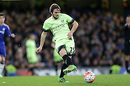 Aleix Garcia of Manchester City in action.The Emirates FA Cup, 5th round match, Chelsea v Manchester city at Stamford Bridge in London on Sunday 21st Feb 2016.<br /> pic by John Patrick Fletcher, Andrew Orchard sports photography.