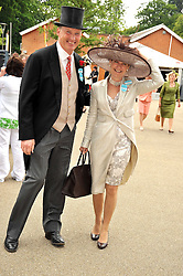 JOHN & RACHEL GOSDEN at the Royal Ascot racing festival 2009 held on 17th June 2009.