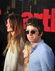 © licensed to London News Pictures. London, UK.  19/04/11. Noel Gallagher and Sara MacDonald attend the premiere of Arthur at The O2 in London.  Please see special instructions for usage rates. Photo credit should read ALAN ROXBOROUGH/LNP