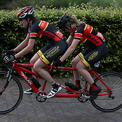 18-06-2017: Wielrennen: NK Paracycling: Montferlands-Heerenberg (NED) wielrennen  <br />Joelle Engel (Beekbergen) Jonneke Buitenhuis