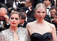 Doutzen Kroes and Valentijn de Hingh  at the Once Upon A Time... In Holywood gala screening at the 72nd Cannes Film Festival Tuesday 21st May 2019, Cannes, France. Photo credit: Doreen Kennedy