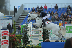 Tuganov Vladimir, (RUS), Confident Of Victory<br /> CSI4* Qualifikation DKB-Riders<br /> Horses & Dreams meets Denmark - Hagen 2016<br /> © Hippo Foto - Stefan Lafrentz