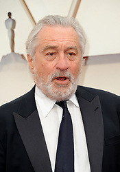 Robert De Niro at the 92nd Academy Awards held at the Dolby Theatre in Hollywood, USA on February 9, 2020.