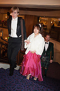 PARKER ALLEN; AMI ALLEN, The Royal Caledonian Ball 2013. The Great Room, Grosvenor House. Park lane. London. 3 May 2013.