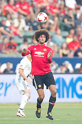 July 15, 2017 - Carson, California, U.S - Manchester United M Marouane Fellaini (27) in action during the summer friendly between Manchester United and the Los Angeles Galaxy at the StubHub Center. (Credit Image: © Brandon Parry via ZUMA Wire)