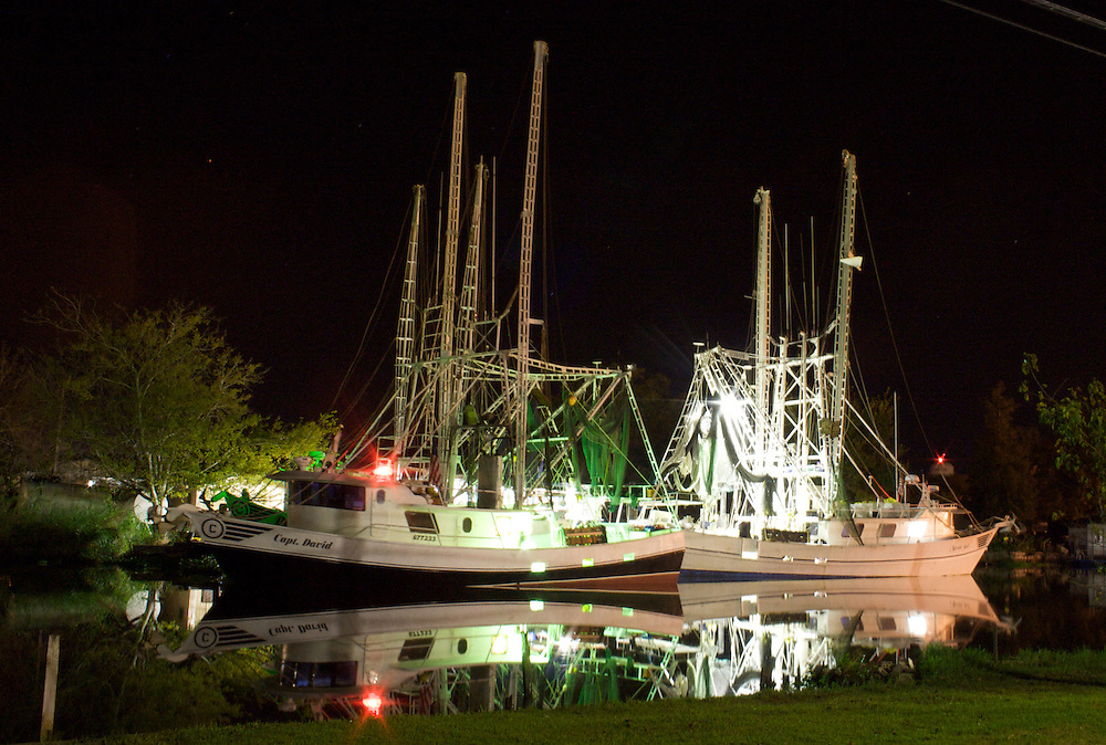 Shrimp Boats, Chauvin, LA