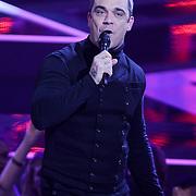 NLD/Hilversum/20121109 - The Voice of Holland 1e liveuitzending, optreden Robbie Williams