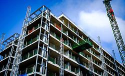 Luxury flats in Quartermile, Lauriston, Edinburgh under construction<br /> <br /> (c) Andrew Wilson   Edinburgh Elite media