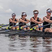 Lewis Hollows, Cameron Crampton, Nathan Flannery and Giacomo Thomas New Zealand Mens Coxless Quad<br /> <br /> Qualifcation heats at the World Championships, Sarasota, Florida, USA Sunday 24 September 2017. Copyright photo © Steve McArthur / Rowing NZ