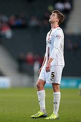 Milton Keynes Dons' Patrick Bamford - Photo mandatory by-line: Nigel Pitts-Drake/JMP - Tel: Mobile: 07966 386802 30/11/2013 - SPORT - Football - Milton Keynes - Stadium mk - MK Dons v Coventry City - Sky Bet League One