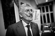 Massimo D'Alema dopo la conferenza per promuovere l'Associazione Italiani Europei . Roma, 16 luglio 2013. Christian Mantuano / OneShot <br /> <br /> Massimo D'Alema after the conference to promote the Association Italian Europeans. Rome, 16 July 2013. Christian Mantuano / OneShot