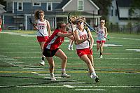 St Paul's School varsity Lacrosse with Brewster.  ©Karen Bobotas Photographer