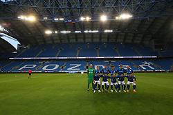 July 12, 2018 - Poznan, Poland - during UEFA Europa League Elimination First qualifying round match between Lech Poznan and Gandzasar Kapan at Stadium Miejski in Poznan, Poland, on 12 July 2018. Lech Poznan team won 2-0. (Credit Image: © Foto Olimpik/NurPhoto via ZUMA Press)