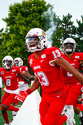 NORMAL, IL - September 07: Braxton Haley during a college football game between the ISU (Illinois State University) Redbirds and the Morehead State Eagles on September 07 2019 at Hancock Stadium in Normal, IL. (Photo by Alan Look)
