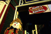Image of Katie's Vermont Kitchen on Main Street in downtown Stowe, Vermont, American Northeast by Andrea Wells