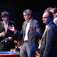 Nederland, Halfweg, 18 juni 2015.<br /> PWC Assurance event in de Suikerfabriek onder leiding van tv presentator Lennart Booij<br /> <br /> Foto: Jean-Pierre Jans