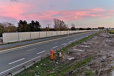 France: Anti-Refugee Wall Almost Completed, 2 Nov. 2016