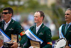 Moloney Peter, Pessoa Rodrigo, Kenny Darragh<br /> Longines FEI Jumping Nations Cup Final<br /> Challenge Cup - Barcelona 2019<br /> © Dirk Caremans<br />  06/10/2019