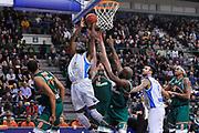 DESCRIZIONE : Eurocup 2014/15 Last32 Dinamo Banco di Sardegna Sassari -  Banvit Bandirma<br /> GIOCATORE : Shane Lawal<br /> CATEGORIA : Tiro Penetrazione<br /> SQUADRA : Dinamo Banco di Sardegna Sassari<br /> EVENTO : Eurocup 2014/2015<br /> GARA : Dinamo Banco di Sardegna Sassari - Banvit Bandirma<br /> DATA : 11/02/2015<br /> SPORT : Pallacanestro <br /> AUTORE : Agenzia Ciamillo-Castoria / Luigi Canu<br /> Galleria : Eurocup 2014/2015<br /> Fotonotizia : Eurocup 2014/15 Last32 Dinamo Banco di Sardegna Sassari -  Banvit Bandirma<br /> Predefinita :
