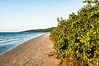 Praia da Daniela no final da tarde. Florianópolis, Santa Catarina, Brasil. / Daniela Beach at late afternoon. Florianopolis, Santa Catarina, Brazil.