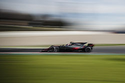 March 1, 2017 - Montmelo, Catalonia, Spain - ROMAIN GROSJEAN (FRA) drives on track during day 3 of Formula One testing at Circuit de Catalunya (Credit Image: © Matthias Oesterle via ZUMA Wire)