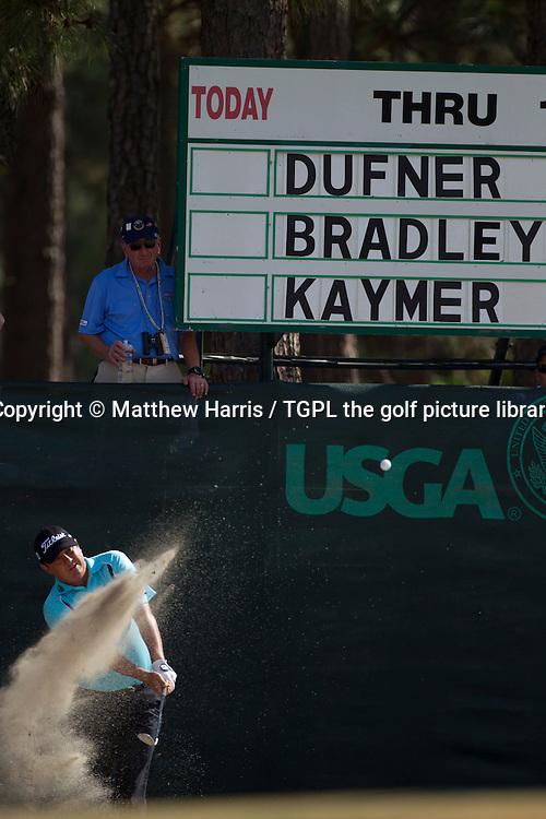 Jason DUFNER (USA) during first round US Open Championship 2014,Pinehurst No 2,Pinehurst,North Carolina,USA.