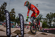 #121 (VAN DER BIEZEN Raymon) NED at the 2016 UCI BMX Supercross World Cup in Santiago del Estero, Argentina