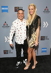 """Tommy Martino and wife at DTLA Film Festival """"INSIDE GAME"""" Los Angeles Premiere held at Regal LA Live on October 24, 2019 in Los Angeles, California, United States (Photo by © Michael Tran/VipEventPhotography.com"""