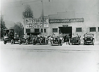 1913 Universal Film & Mfg. Company's garage at 6652 Santa Monica Blvd