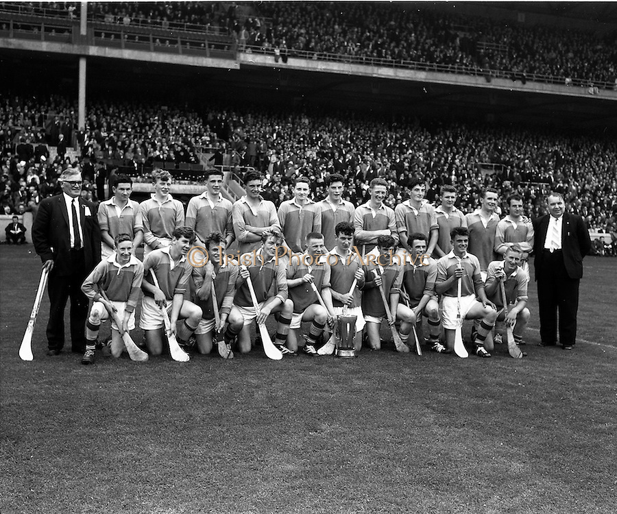 01/09/1963<br /> 09/01/1963<br /> 1 September 1963<br /> Hurling match: Wexford v Union at Croke Park, Dublin.<br /> Wexford team.
