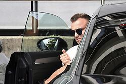 August 28, 2017 - ZüRich, Schweiz - Zürich, 28.08.2017, Fussball - Besammlung Schweizer Nationalmannschaft, Xherdan Shaqiri kommt zur Besammlung der Schweizer Nationalmannschaft. (Credit Image: © Melanie Duchene/EQ Images via ZUMA Press)