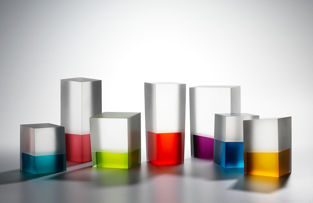 Glass artworks by Kumiko Nakajima