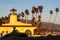 United States, California, Santa Barbara. Former lighthouse, now a restaurant.