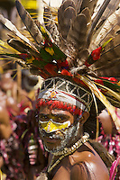 Villager in Goroka, Eastern Highlands Province, Papua New Guinea.