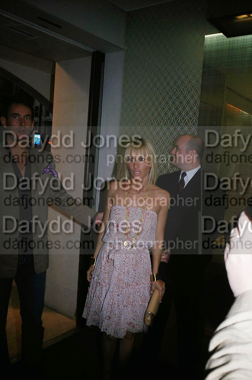Princess Alexandra von Furstenburg. Book launch of ' The Russian House'  by Ella Krasner at De Beers. 50 Old Bond St. London W1. ONE TIME USE ONLY - DO NOT ARCHIVE  © Copyright Photograph by Dafydd Jones 66 Stockwell Park Rd. London SW9 0DA Tel 020 7733 0108 www.dafjones.com