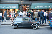 MINI, Pimlico Road party. 22 June 2010. -DO NOT ARCHIVE-© Copyright Photograph by Dafydd Jones. 248 Clapham Rd. London SW9 0PZ. Tel 0207 820 0771. www.dafjones.com.