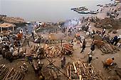 Cremation in Varanasi, India