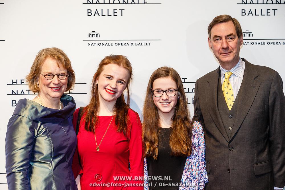 NLD/Amsterdam/20160206 - Premiere balletvorstelling Mata Hari, .................