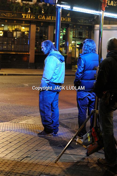 Jason Statham Redemption Film set, 3.30 am Cambridge circus http://www.youtube.com/watch?v=82XwtyTU_1k