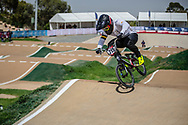 #215 (MCLEAN Joshua) AUS at Round 1 of the 2020 UCI BMX Supercross World Cup in Shepparton, Australia