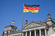Germany, Berlin, Reichstag building