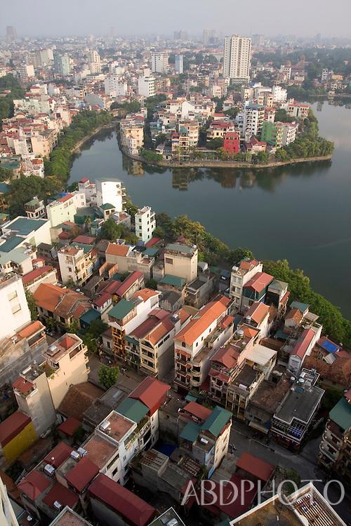 truc bac lake Hanoi