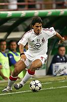 Milano 13/8/2004 Trofeo Seat. Milan - Sampdoria 2-2. Sampdoria won after penalties - Sampdoria vince ai rigori.<br /> <br /> Gennaro Gattuso Milan<br /> <br /> Foto Andrea Staccioli Graffiti