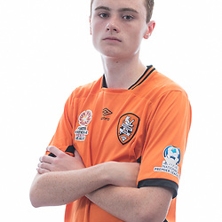 BRISBANE, AUSTRALIA - MARCH 17: Jack Easton poses for a photo during the Brisbane Roar Youth headshot session at QUT Kelvin Grove on March 17, 2017 in Brisbane, Australia. (Photo by Patrick Kearney/Brisbane Roar)
