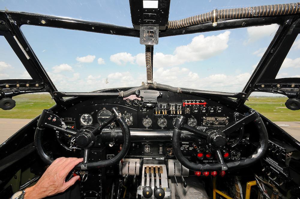 Avro Lancaster cockpit